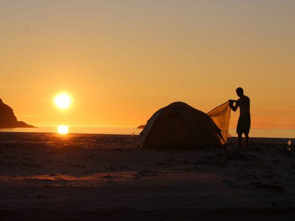 Sørøya_strand_solnedgang